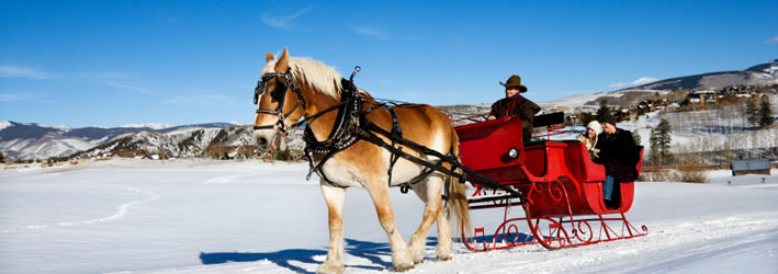 Mont Tremblant sleigh ride