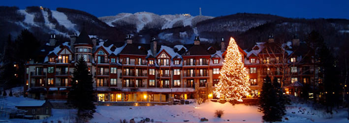 Mont Tremblant Christmas