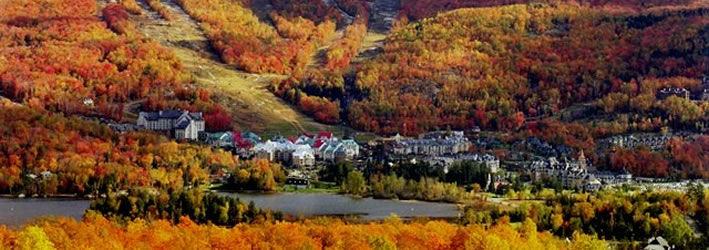 Fall Colors at Mont Tremblant